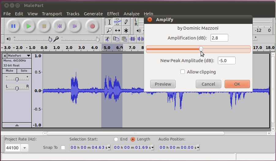 Audio - 7 - Filtering and Effects